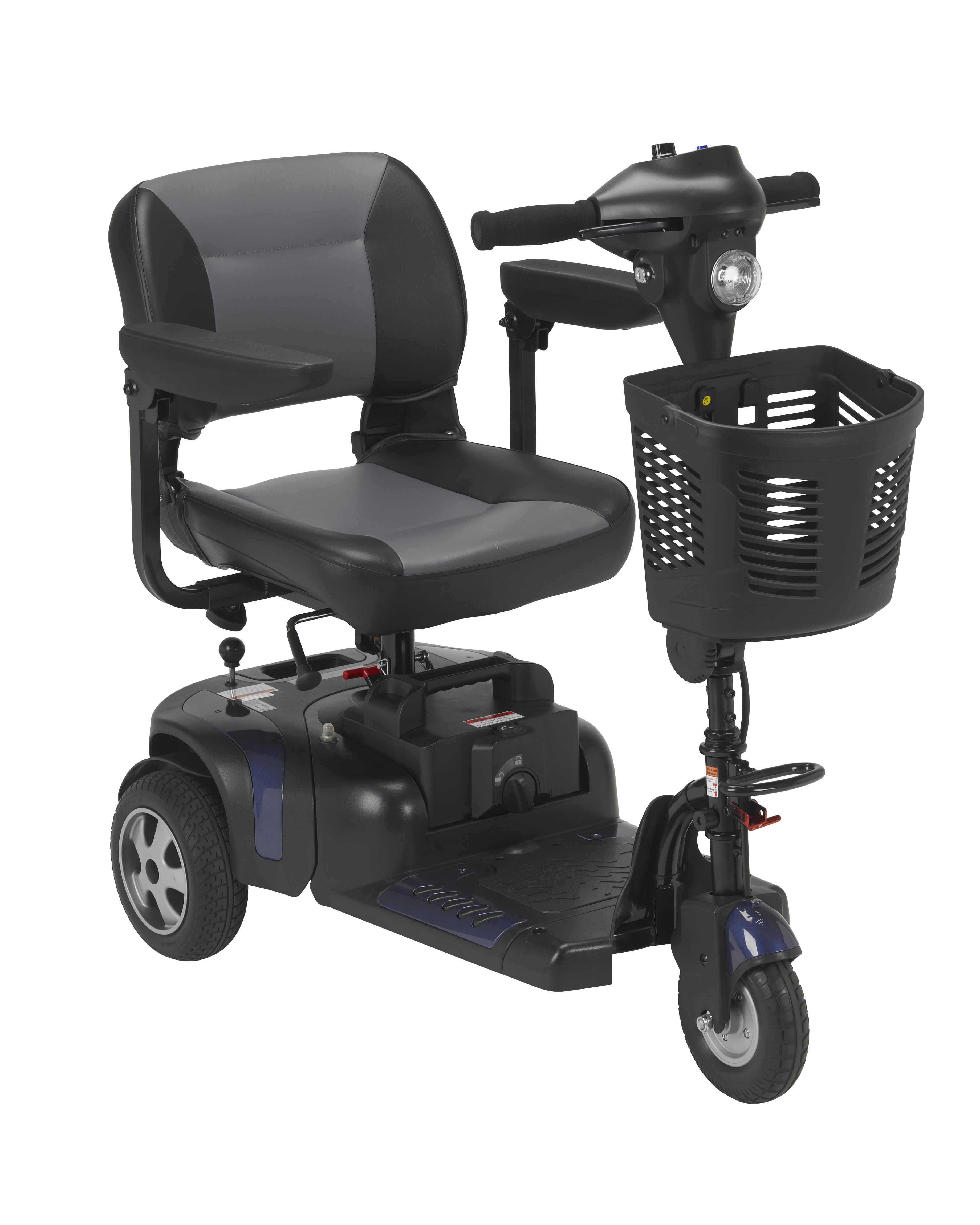 Phoenix Heavy Duty Power Scooter, 3 Wheel, 20″ Seat